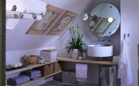 阁楼卫生间设计 阁楼卫生间装修效果图